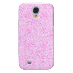 Glittery pink texture samsung galaxy s4 covers
