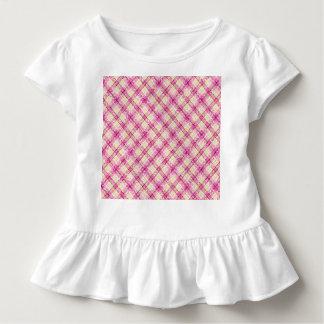 Glittery Pink & Yellow Plaid Shirt