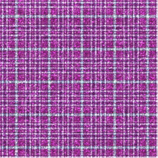 Glittery Purple Awareness Plaid Statuette