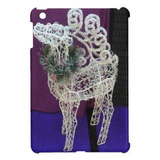 Glittery reindeer iPad mini cases