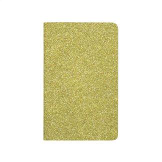 Glittery Shiny Gold Glitters Journal
