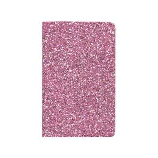 Glittery Shiny Pink Glitters Journal