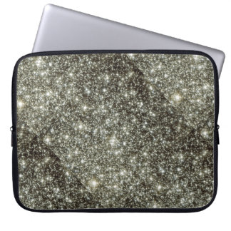Glittery Stars Laptop Computer Sleeves