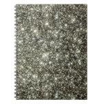 Glittery Stars Note Book