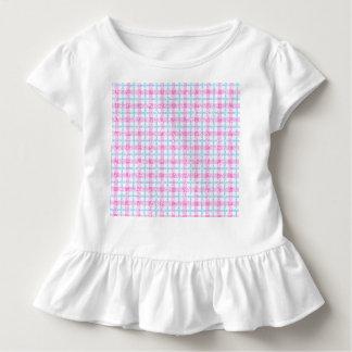 Glittery Tartan Plaid in Pink & Blue Shirt
