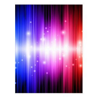 glitz colorido del encanto del arco iris de la div postales