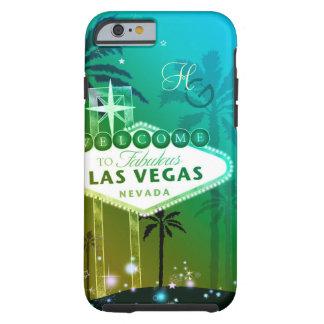 Glitz & Glam Las Vegas Monograms iPhone 6 Covers Tough iPhone 6 Case