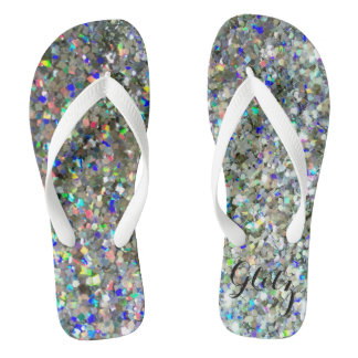 """Glitz"" Glitter Flip Flops! Flip Flops"