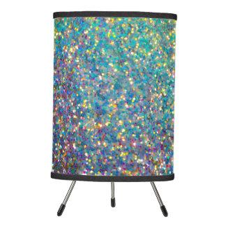 Glitz Glitter Table Lamp! Tripod Lamp