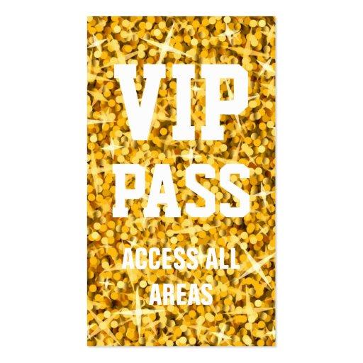 """Vip Pass Logo Glitz """"Gold""""..."""