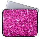 Glitz Pink laptop sleeve 15 inch