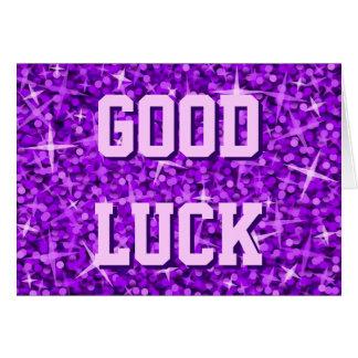 http://rlv.zcache.com/glitz_purple_good_luck_your_text_card-r5e04fcf13bc84491a6af2d7c088bd33b_xvuak_8byvr_324.jpg