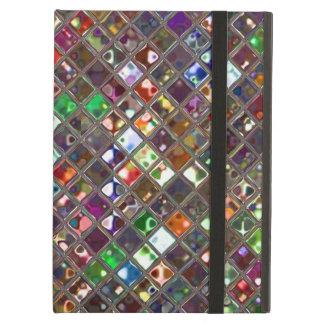 Glitz Tiles Multicoloured Powis iPad case