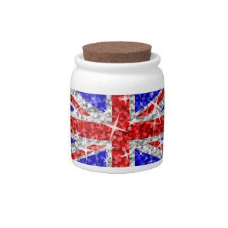 Glitz UK candy jar