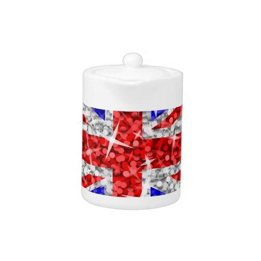 Glitz UK teapot