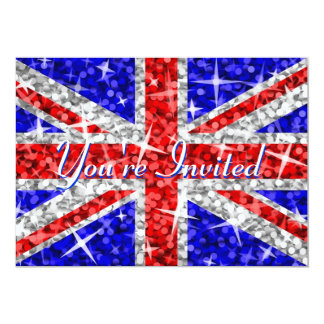 """Glitz UK 'You're Invited' invitation 5"""" X 7"""" Invitation Card"""