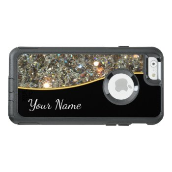Glitzy Bling Style Otterbox Iphone 6/6s Case by idesigncafe at Zazzle