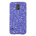 Glitzy Blueberry Glitter Galaxy S5 Covers