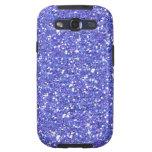 Glitzy Blueberry Glitter Galaxy SIII Cover