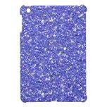 Glitzy Blueberry Glitter iPad Mini Cases