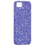Glitzy Blueberry Glitter iPhone 5 Cover