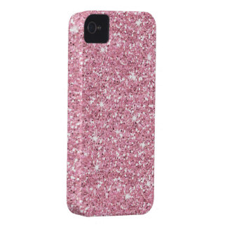 Glitzy Bubblegum Glitter iPhone 4 Cases