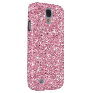 Glitzy Bubblegum Glitter Galaxy S4 Case