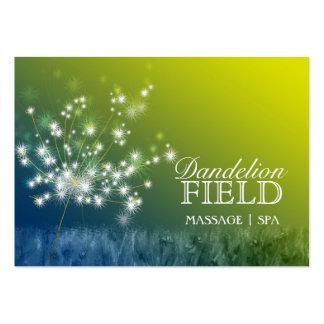Glitzy Dandelions Massage Spa Business Cards