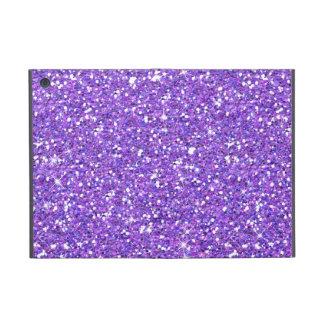 Glitzy Eggplant Glitter iPad Mini Covers