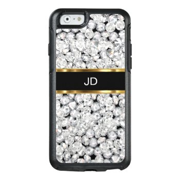 Glitzy Faux Jewel Bling Otterbox Iphone 6/6s Case by idesigncafe at Zazzle