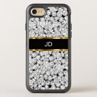 Glitzy Faux Jewel Bling OtterBox Symmetry iPhone 7 Case