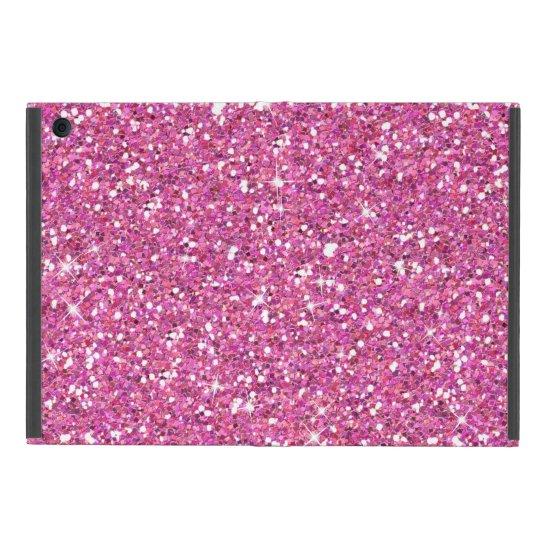 Glitzy Fuschia Glitter iPad Mini Covers