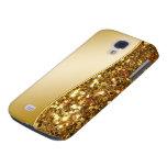 Glitzy Galaxy S4 Simulated Glitter Case Samsung Galaxy S4 Cover