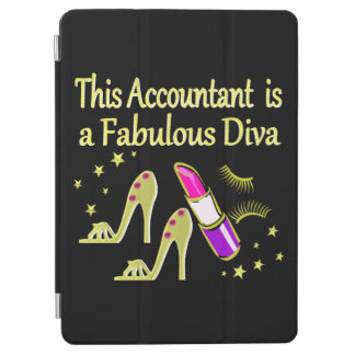 GLITZY GOLD ACCOUNTANT DESIGN iPad AIR COVER