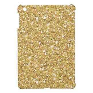 Glitzy Gold Glitter Cover For The iPad Mini