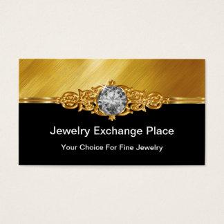 Glitzy Jewelery Business Cards