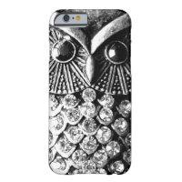 Glitzy Jewelled Metal Owl iPhone 6 Case