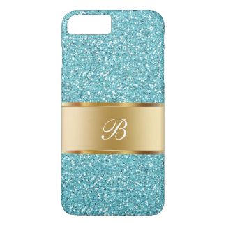 Glitzy Ladies Monogram iPhone 7 Plus Case
