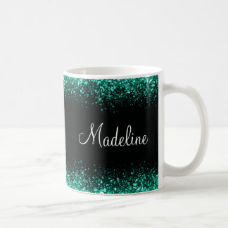 Glitzy Ladies Office Coffee Design Coffee Mug
