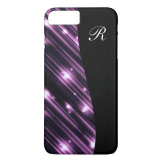 Glitzy Monogram Bling iPhone 7 Plus Case