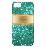Glitzy Monogram iPhone 5 Cases