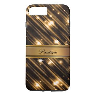 Glitzy Monogram Style iPhone 7 Plus Case
