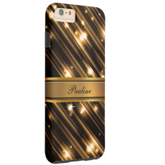 Glitzy Monogram Style Tough iPhone 6 Plus Case