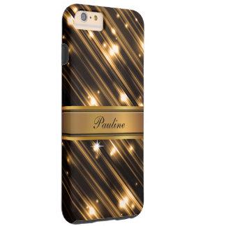 Glitzy Monogram Style Tough iPhone 6 Plus Case