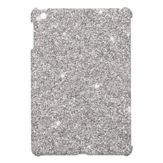 Glitzy Silver Glitter Cover For The iPad Mini