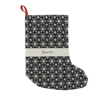 Black And Silver Christmas Stockings & Black And Silver Xmas ...