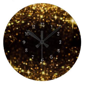 Glitzy Wall Clocks