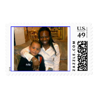 glo and izzy in the days postage stamp