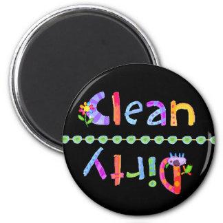 Glo embroma el imán sucio limpio del lavaplatos