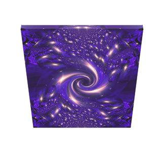 Glo-Swirl Canvas print